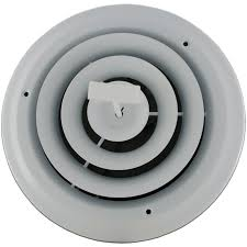 Ceiling Heat Vent Deflector by Round Diffuser Vent Ceiling Air Registers