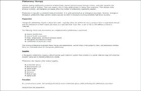 Phlebotomist Resume Examples Beautiful Samples Gallery Sample Of