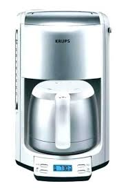 Krups Thermal Carafe Coffee Maker White With