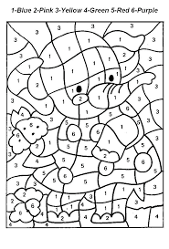 Coloring Pages Numbers 1 5 20 Colour 10