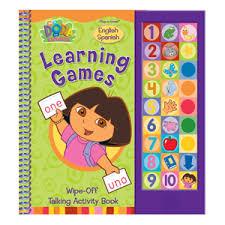 Dora The Explorer English Spanish Learning Games