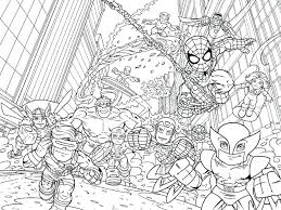 Images Marvel Printable Coloring Pages Lego Super Heroes Colouring Avengers Full Size