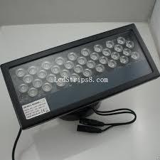 high power ip65 rectangular waterproof 36w linear rgb led wall