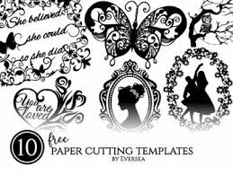 10 Free Paper Cutting Templates Printable