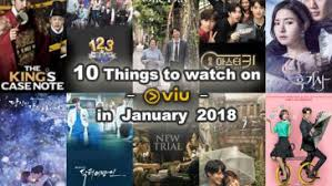 10 Things To Watch On Viu In January 2018