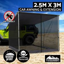2M-3M Car Side Awning Extension Roof Rack Top Tents Side Shades ... 4wd Side Awning Tent Bromame Adventure Kings Awning Side Wall Alloy Knuckle Hinge Spare Parts Off Road 4x4 20m X 3m 4wd Camping Grey Car Roof Rack Tent Wind Break O N Retractable Nz Ridge Premium X Storage Box And Installed Tags Expedition Camper 20x30m Pull Out Top Trailer Motorized Suppliers 270 Degree For Cars Rear Awnings Buy