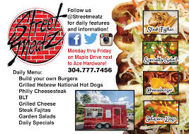 Street Meatz Food Truck - Morgantown, WV Taco Truck Catering Food Finder Carytown Burgers Fries Richmond Virginia Canada Buy Custom Trucks Toronto Chef Units Build The Best 5 Books For Entpreneurs Floridas 10step Plan How To Start A Mobile Business Schmear It Bagel With A Conscience Eater Philly And Trailers Use Our Builder Free Market Your Makan Acai Bowls In Charlotte Nc Spoons Truck Offers Acai Be Success The Food Business