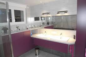 salle de bain mauve salles de bain edg ebénisterie du guinefort cuisine