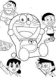 Doraemon And Friends Colouring Pages