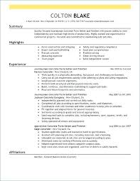 Sample Resume Of Electrician Helper Together With Examples Resumes To Prepare Awesome