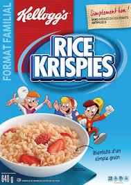 Rice Krispie Treats Halloween Shapes by Kellogg U0027s Rice Krispies Cereal Original 640g Family Size