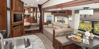 Fifth Wheel Campers With Front Living Rooms by Semi Caravane Eagle Ht 2016 Wehr Rv
