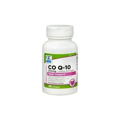 Quality Choice QC Co-Enzyme Q10 200mg 45sg (4 Packs)