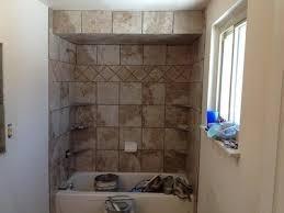 luxury tub surround vs tile shower tub surround white tile