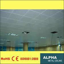 100 Exposed Ceiling Design China Aluminum False Decorative Indoor Lay In