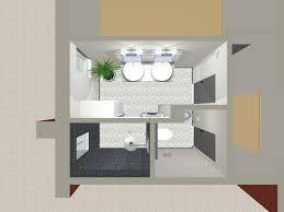 plans de salle de bain