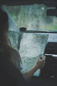 Map Travel And Girl Image