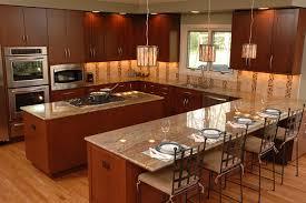 U Shaped Kitchen Counter Photo