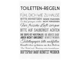 interluxe leinwand keilrahmen shabby toiletten regeln geschenk badezi