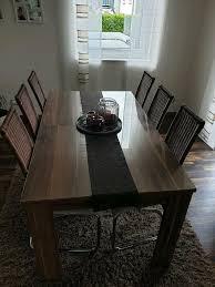 esszimmer tisch stühle highboard