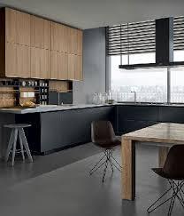 cuisine gris et noir cuisine noir et bois simple deco cuisine noir decoration cuisine