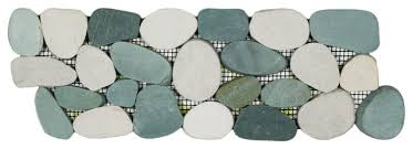 Sliced Pebble Tiles Uk by 4