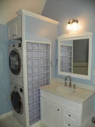 Bathroom Remodel With Stackable Washer Dryer