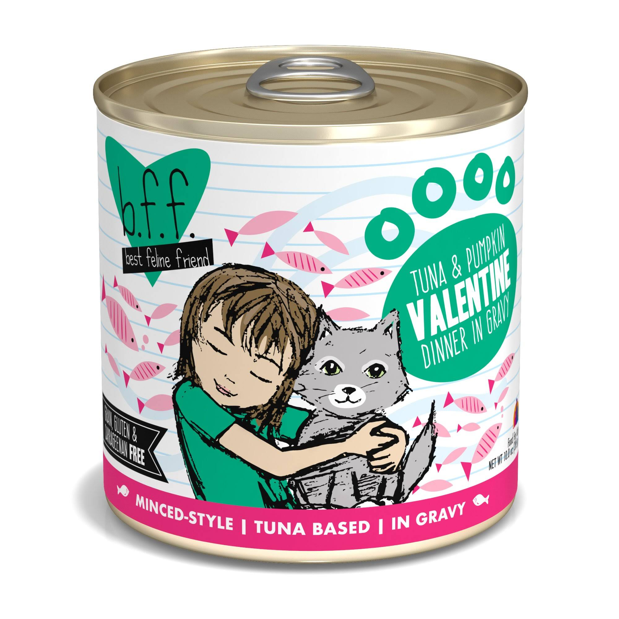 Weruva Best Feline Friend Cat Food - Tuna & Veggies Valentine