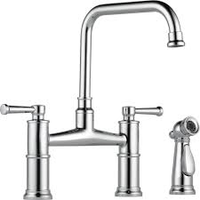Brizo Kitchen Faucet Touch by Brizo 62525lf Pc Artesso Polished Chrome Two Handle Bridge Kitchen