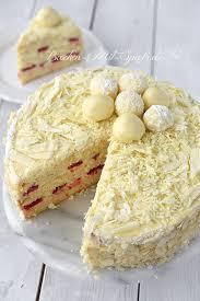 weiße schoko trüffel torte