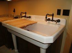 Kohler Gilford Scrub Up Sink by Refinished Arsenic Green Dead Stock Cast Iron Porcelain Wall Mount