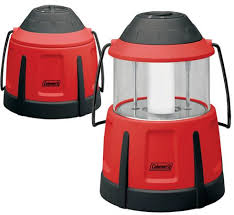coleman battery pack away lantern for a hurricane or cing