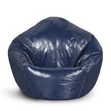 Classic Small Bean Bag Navy Blue (Navy Blue) (Vinyl ... Shop Regal In House Bean Bag Chair Navy S Online In Dubai Lifestyle Vinyl Blue Bean Bags Twist Stripes Outdoor Amazoncom Wild Design Lab Elliot Cover 6foot Microfiber And Memory Foam Coastal Lounger Nautical And White Buy Large Comfort Seating Fniture For Classic Fully Comfortable Washable Velvet Can Bean Bags Denim With Piping Ftstool Blue Lounge Pug Denim Adult Beanbags Inflatable Lazy Air Bed Couch Sofa Hangout