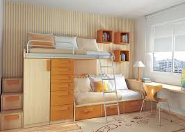 Desk Bunk Bed Combo by Loft Bed Combo With Cabinet System And Large Sofa Plus Storage