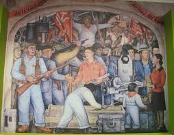 Diego Rivera Rockefeller Mural by Frida Kahlo And Diego Rivera Articles From Paris