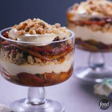 Pumpkin Mousse Trifle Country Living by Food Network Spiked Carmelized Are Layered With