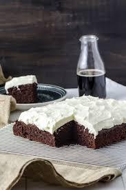 schwarzbier kuchen mit frischkäse topping baking barbarine