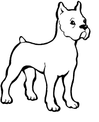 Colouring Pages Dog Printable Coloring On Plans Free Desktop