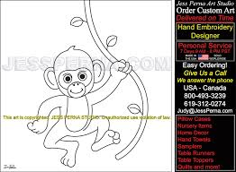 Swinging Monkey Find Quilt Block Pattern Designer