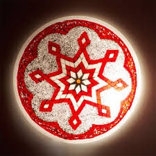 Turkish Mosaic Lamps Amazon by Wall Or Ceiling Lamp Turkish Glass Murano Mosaic Arabic 50