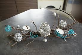 deco noel centre table décoration de noël déco écolo