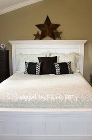 Ana White Farmhouse Headboard by King Farmhouse Bed Do It Yourself Home Projects From Ana White