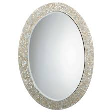 Wayfair Oval Bathroom Mirrors by Jamie Young Oval Mother Of Pearl Mirror