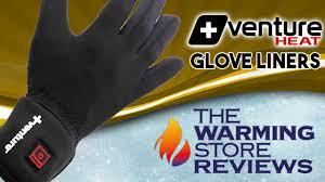 venture heat battery heated glove liners youtube