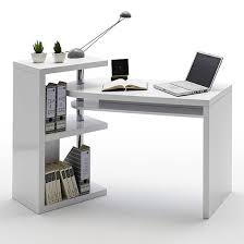 Black Gloss Corner Computer Desk by Brilliant Daniele Computer Desk In White High Gloss With Storage