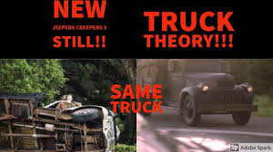 NEW Jeepers Creepers 3 Still+Truck Theory!! - YouTube New Jeepers Creepers 3 Stilltruck Theory Youtube A 1941 Chervolet Cabin Over Engine Torqued Up Super Tight Monster Movie Jeepers Creepers Fan Art By Midfacer On Deviantart First Terrifying Trailer For Released Loving This Blue Carstrucksrims Pinterest Jeeps Jeep Jk Pin Irish Nole Jeep Life And Jeep Iii 2017 Dennis Depue The Reallife Killer That Inspired 48 F1 Page 2 Ford Truck Enthusiasts Forums Truck Creeper To 039 For Footage