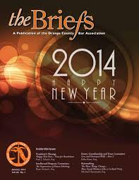 Spirit Halloween Lakeland Fl 2014 by Orange County Bar Association The Briefs January 2014 By