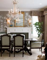 Dining Room Crystal Chandeliers New British Colonial Decor With Empire Style