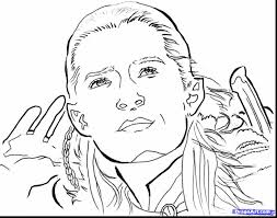 Wonderful How To Draw Lord Of The Rings Elves With Hobbit Coloring Pages And