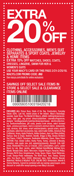 Macys Coupons - Extra 20% Off At Macys, Or Online Via Promo Code BIG Roc Race Coupon Code 2018 Austin Macys One Day Sale Coupons Extra 30 Off At Or Online Via Promo Pc4ha2 Coupon This Month Code Discount Promo Reability Study Which Is The Best Site North Face Purina Cat Chow Printable Deals Up To 70 Aug 2223 Sale Ad July 2 7 2019 October 2013 By October Issuu Stacking For A Great Price On Cookware Sthub Jan Cyber Monday Camcorder Deals 12 Off Sheet Labels Label Maker Ideas 20 Big